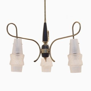 Italian Hallway Pendant Lamp, 1950s