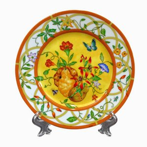 French Decorative Plate from Hermès, 1980s