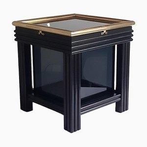 Lámpara de mesa Box en negro, años 70