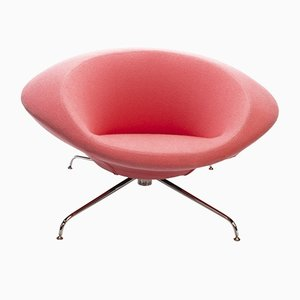 Pink Kirk Lounge Chair by René Holten for Artifort, 1990s
