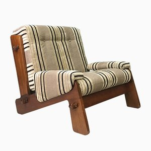Vintage Teak Lounge Chair