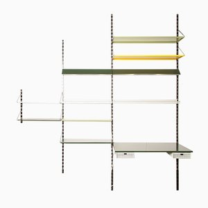 Mid-Century Pilastro Wall Unit by Tjerk Reijenga for Pilastro, 1950s