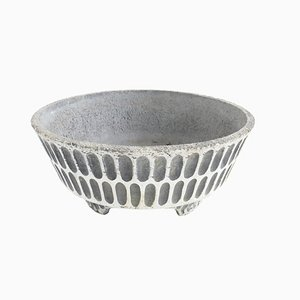 Cache-Pot Mid-Century en Béton