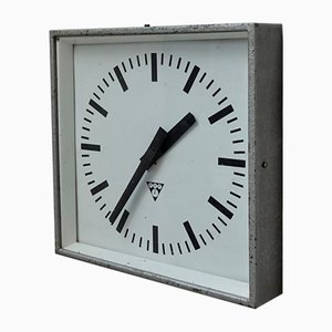 Czechoslovakian Clock from Pragotron, 1980s