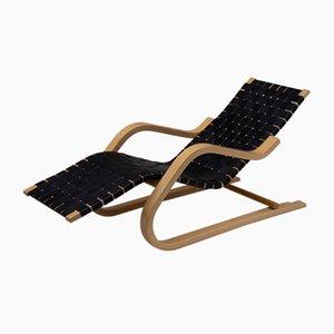Chaise longue de Alvar Aalto para Artek, años 40