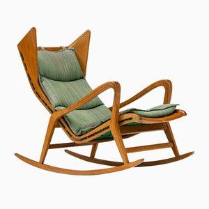 Sedia a dondolo nr. 572 di Cassina, anni '50