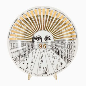 Decorative Plate by Piero Fornasetti, 1996