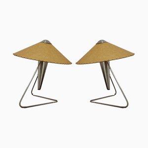 Tischlampen von Helena Frantova für Napako, 1960er, 2er Set