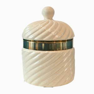 White Ice Bucket by Tommaso Barbi, 1970s