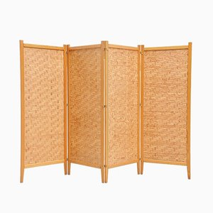 Swedish Folding Screen by Albert Jansson, 1950s