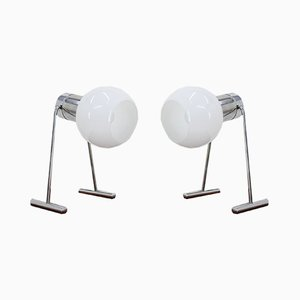 Lampes de Bureau de Napako, années 60, Set de 2