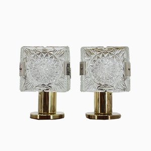 Table Lamps from Kamenický Šenov, 1970s, Set of 2