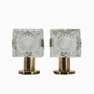 Tischlampen von Kamenický Šenov, 1970er, 2er Set