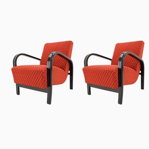 Armchairs by Kropacek and Kozelka, 1950s, Set of 2