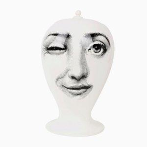 Vase von Piero Fornasetti für Barovier & Toso, 1960er