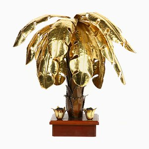 Palm Tree Table Lamp, 1970s