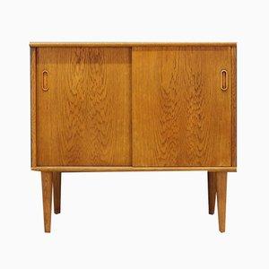 Oak Veneer Cabinet, 1960s