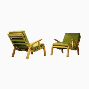 Lounge Chairs by Gustavo Pulitzer and Giorgio Lacht, 1930s, Set of 2