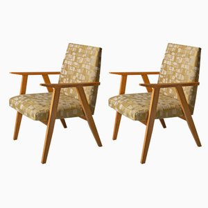Italian Armchairs, 1960s, Set of 2