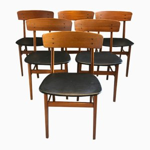 Esszimmerstühle von Farstrup Møbler, 1960er, 6er Set