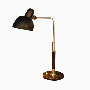 Bauhaus Modell 6607 Tischlampe von Christian Dell für Gebrüder Kaiser & Co., 1930er
