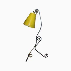 Industrielle Vintage Tischlampe aus Eisen, 1960er