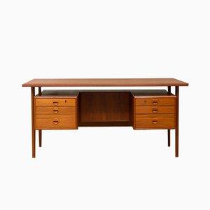 Schreibtisch aus Teak von Kai Kristiansen für FM Møbler, 1960er