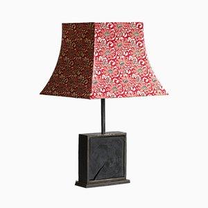 Gebrannte Hashira le Lotus Rouge Tischlampe von Villard