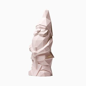 Nino Garden Gnome in Pink by Pellegrino Cucciniello for Plato Design