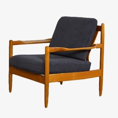 Danish Beech Armchair by Grete Jalk for France & Son