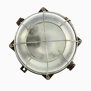 Mid-Century Industrial Model IP54 Sconce