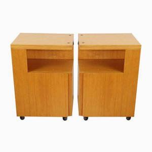 Vintage Model Serena Nightstands by Giovanni Michelucci, 1960s, Set of 2