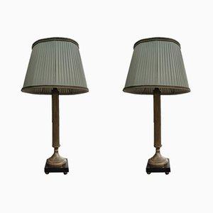 Antike Tischlampen, 2er Set