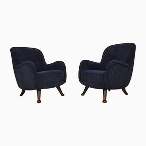 Vintage Armchairs by Berga Mobler for Berga Mobler, Set of 2