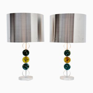 Large Table Lamps from Raak Amsterdam, 1972, Set of 2