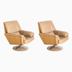 Dutch Reclining Armchairs from Leolux, 1980s, Set of 2