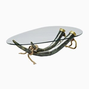 Bronze Coffee Table by Italo Valenti for Valenti, 1970s
