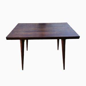 Petite Table d'Appoint en Marronnier, années 60