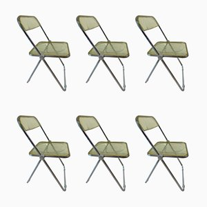 Dining Chairs by Giancarlo Piretti for Castelli / Anonima Castelli, 1970s, Set of 6