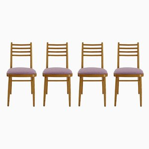 Mid-Century Dining Chairs from Interier Praha, 1970s, Set of 4