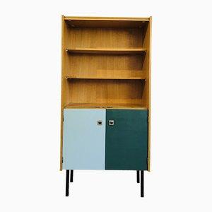 Bücherregal aus Eiche, 1960er