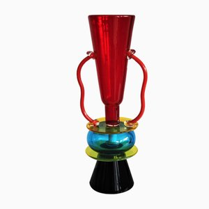 Vase by Ettore Sottsass for Memphis, 1982