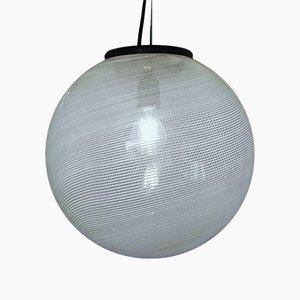 Lampada da soffitto Mid-Century di Laura Diaz de Santillana per Venini, anni '60