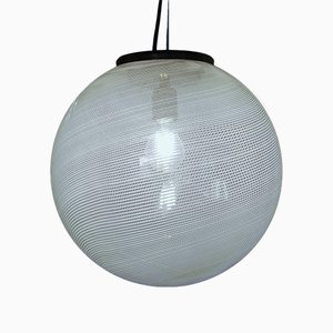 Mid-Century Ceiling Lamp by Laura Diaz de Santillana for Venini, 1960s