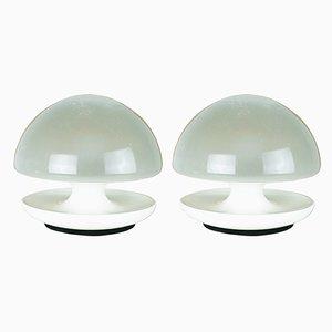 Lámparas de mesa era espacial de Vittorio Balli & Romeo Ballardini para Sirrah, años 70. Juego de 2