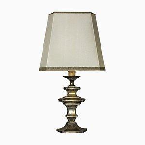 Antike Tischlampe aus Bronze