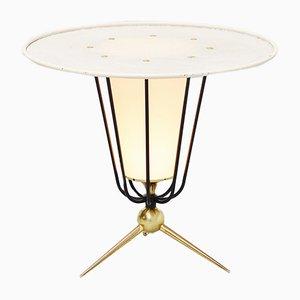 Lámpara de pie francesa de Disderot, años 50