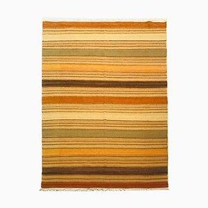 Indischer Kelim Teppich aus Wolle & Baumwolle, 1970er
