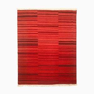 Indischer Vintage Kelim Teppich aus Wolle & Baumwolle, 1970er
