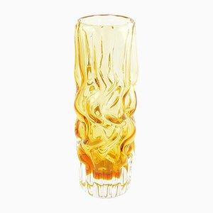 Mid-Century Vase by Pavel Hlava for Novy Bor Sklarna, 1960s